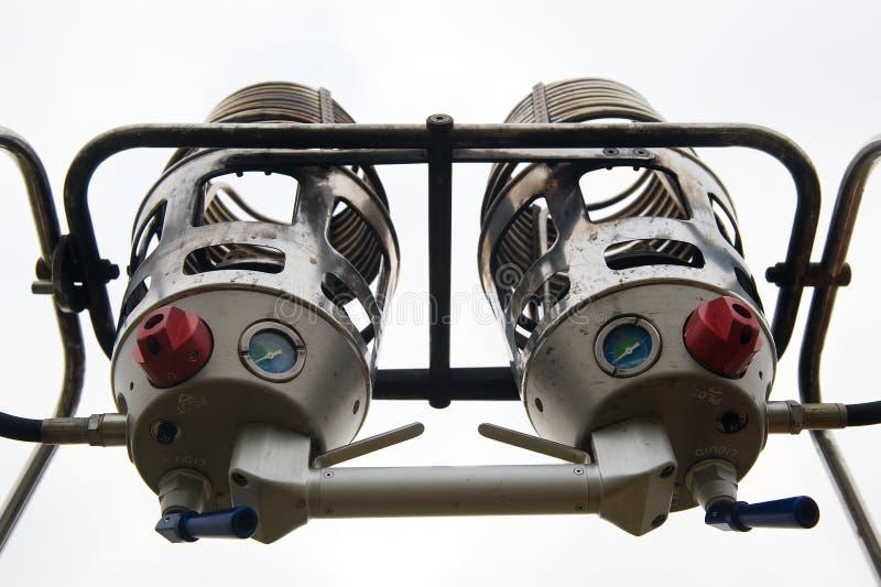 подогреватели воздушного шара горячие стоковые изображения