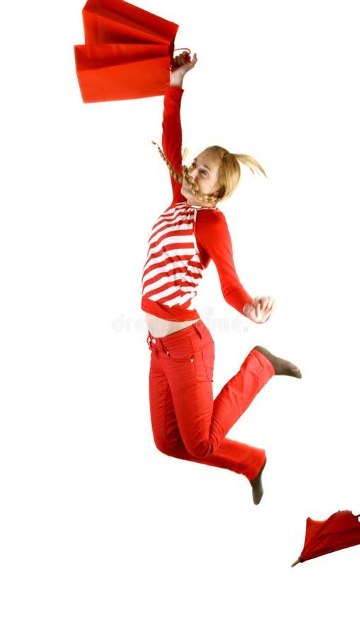 подросток девушки счастливый стоковые изображения rf