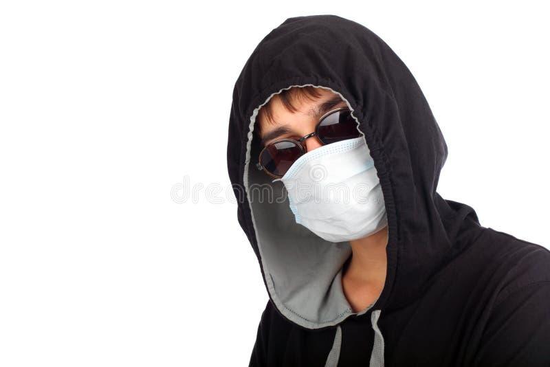 подросток маски стоковое изображение