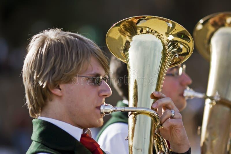 подросток музыкантов стоковая фотография rf
