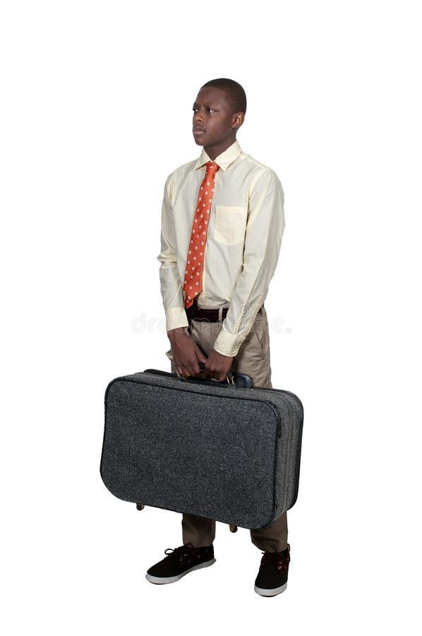 Подросток на каникуле стоковое фото
