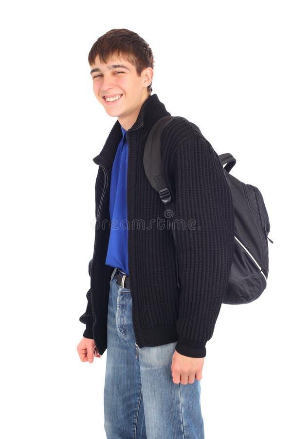 подросток рюкзака стоковые фото