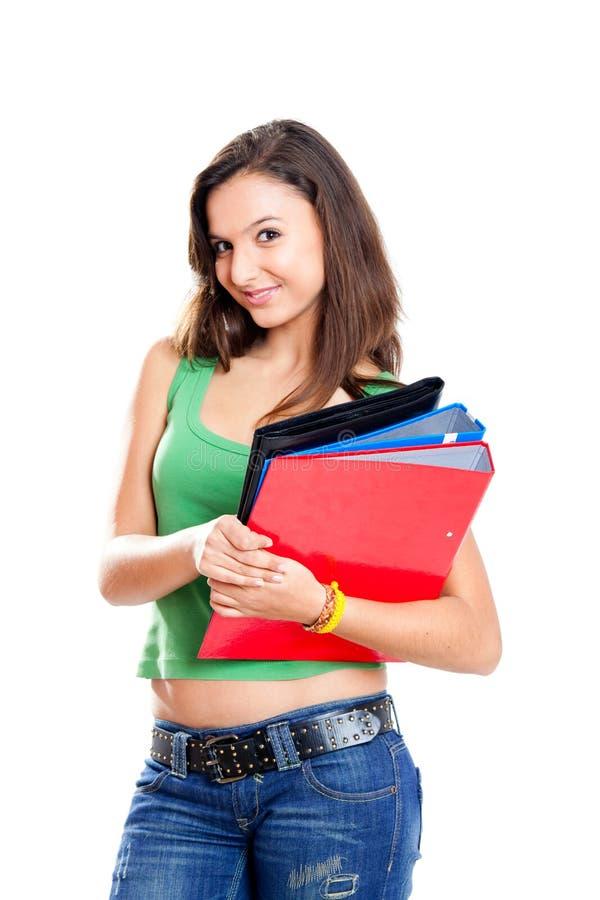 подросток студента стоковое изображение rf