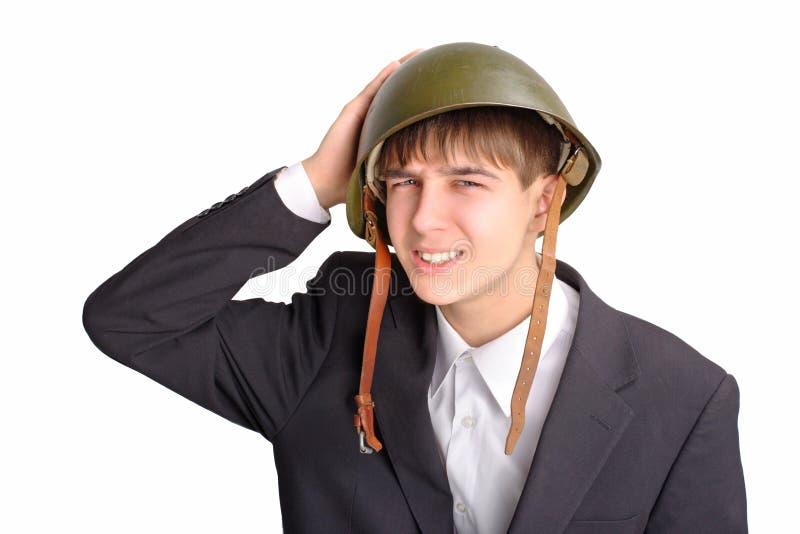 подросток шлема стоковые изображения