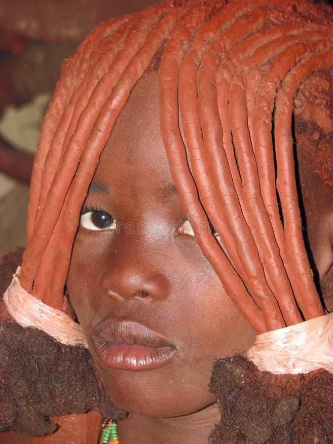 подросток himba стоковое фото rf