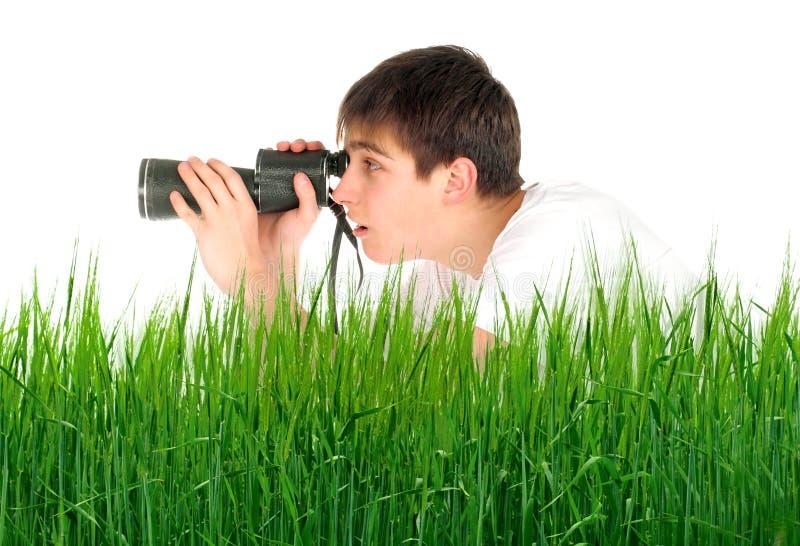 подросток monocle стоковые фотографии rf