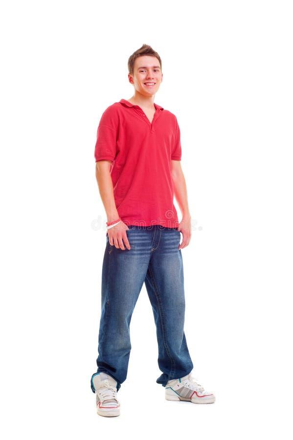 подросток smiley стоковые фото