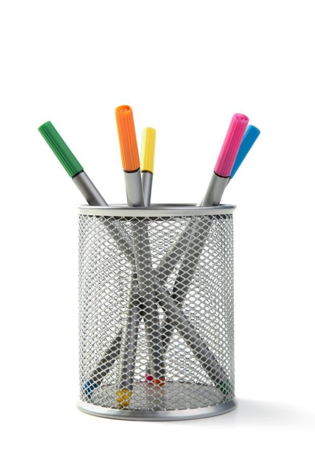 подсказка поддержки серебра перев войлока цвета стоковое изображение rf