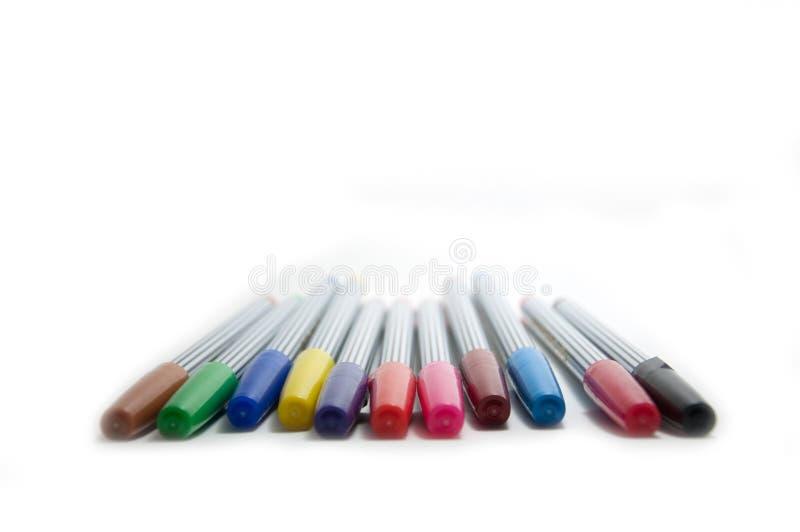 подсказка радуги пер мягкая стоковые фото