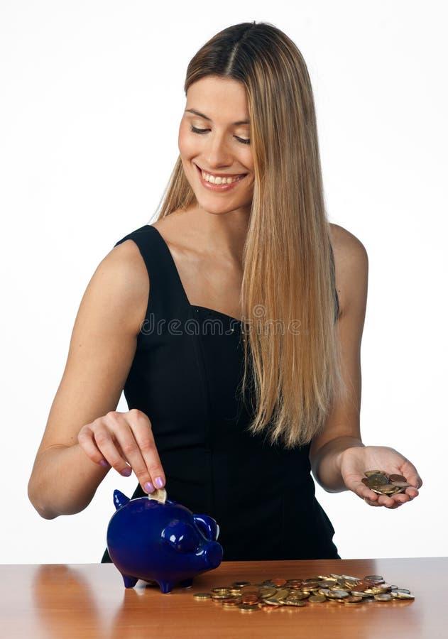 подсчитывать женщину дег стоковое фото rf