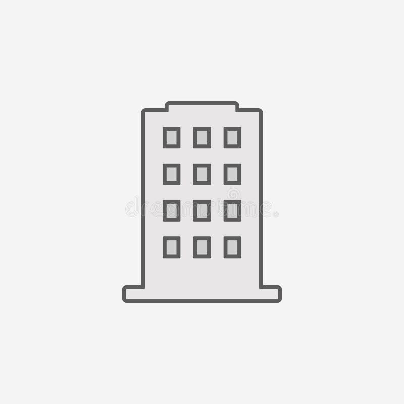 подчеркиванный значок плана поля текста Элемент значка 2 цветов простого Тонкая линия значок для дизайна вебсайта и развития, app иллюстрация вектора