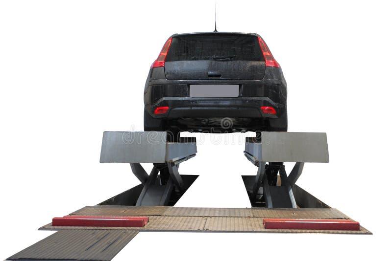 подъем автомобиля стоковые изображения rf
