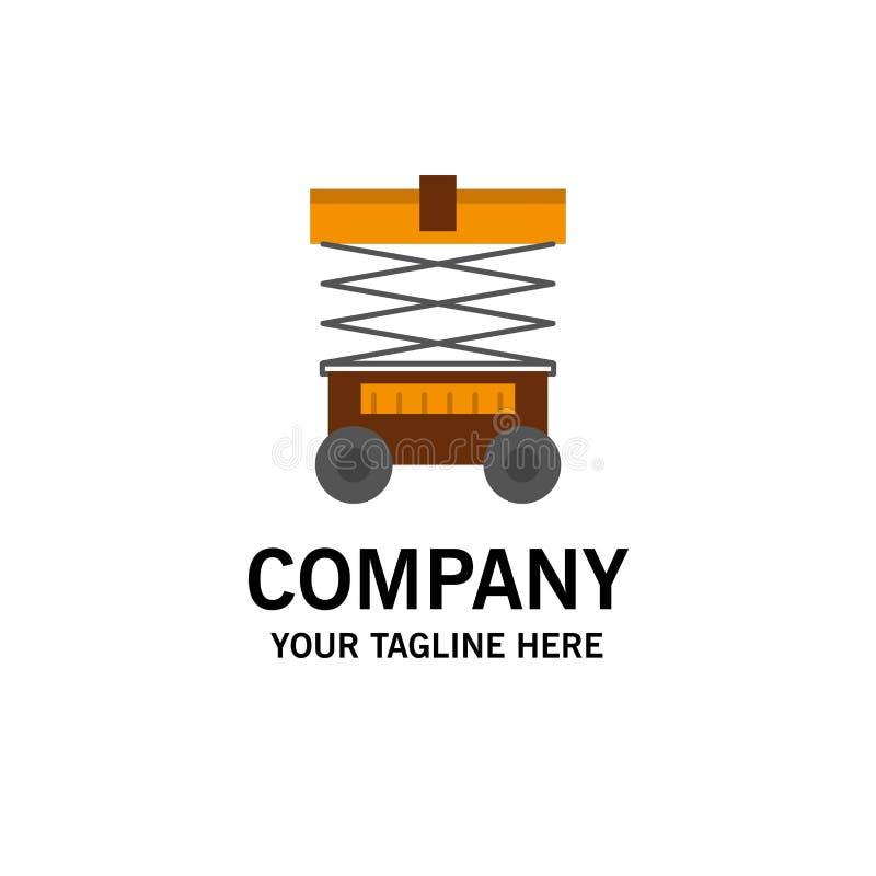 Подъем, грузоподъемник, склад, Lifter, шаблон логотипа дела r бесплатная иллюстрация