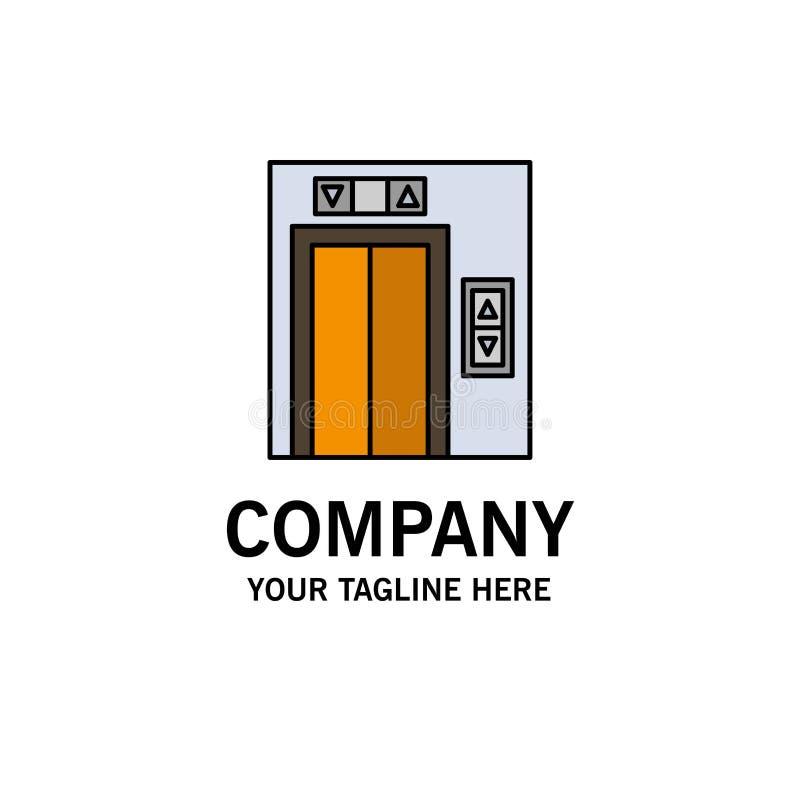 Подъем, здание, шаблон логотипа строительного бизнеса r бесплатная иллюстрация