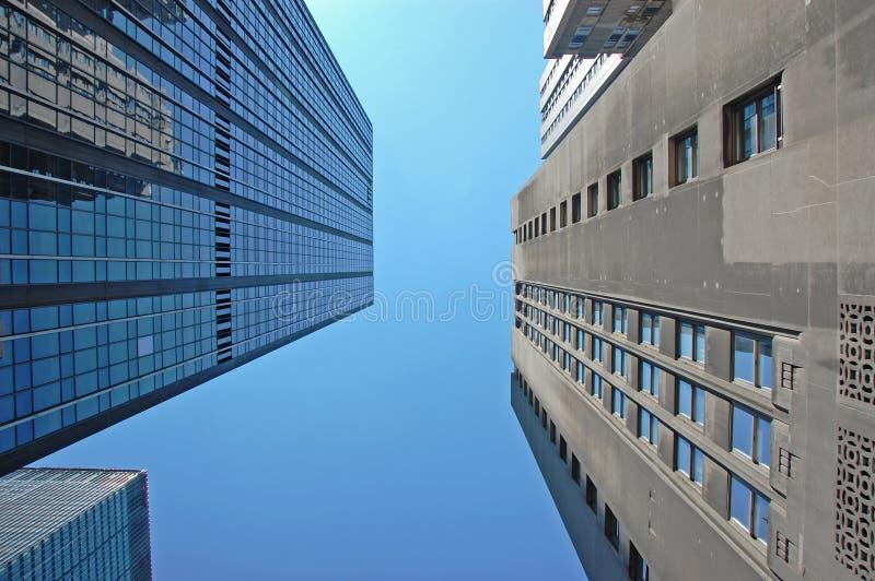 подъем зданий высокий стоковые изображения
