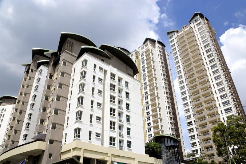подъем квартир высокий самомоднейший стоковое фото