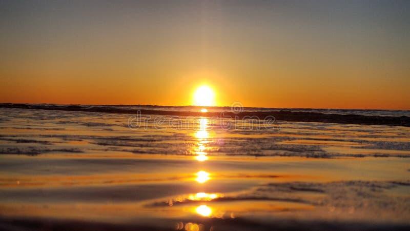 Подъем Солнця восточного побережья стоковое изображение