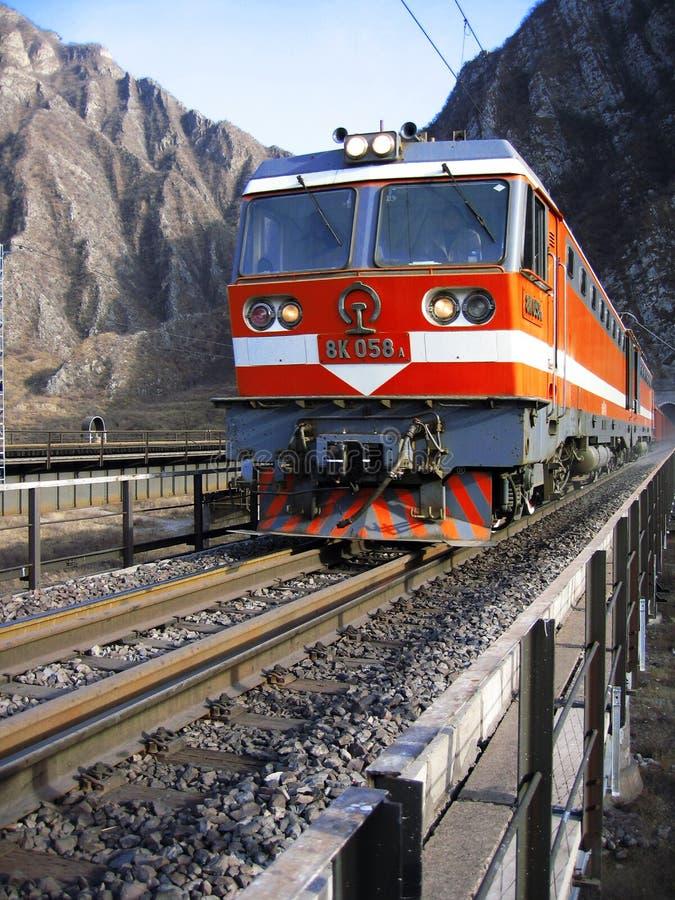поезд китайца стоковые фото