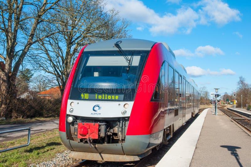 Поезд корпии 41 на вокзале Hoeng стоковое фото