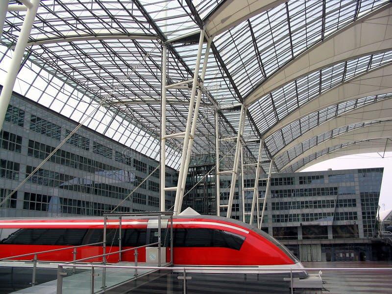 поезд левитации магнитный стоковые фотографии rf