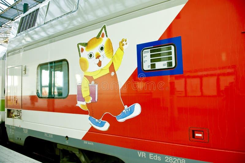 поезд младенца стоковая фотография