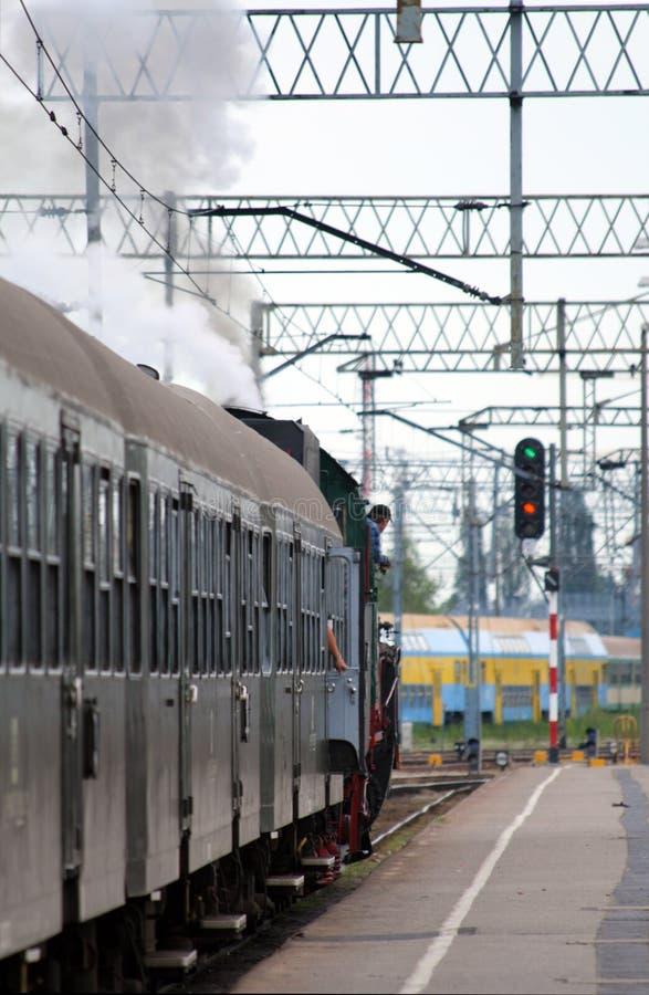 поезд отклонения стоковые изображения