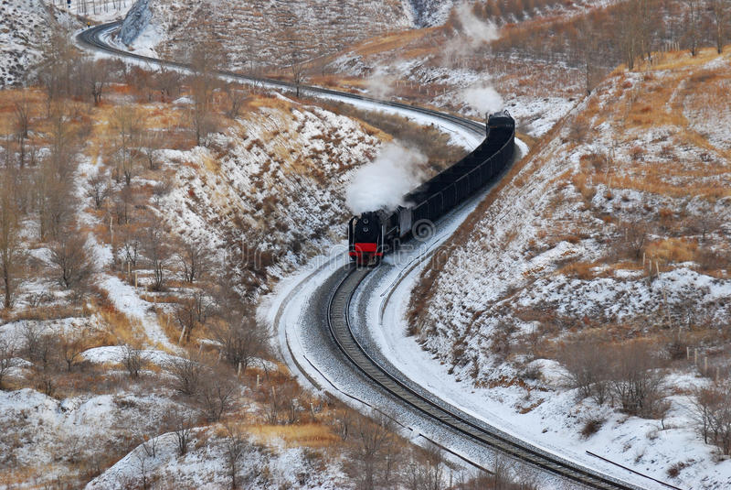 поезд пара стоковые изображения rf