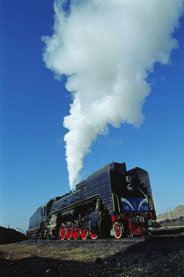 поезд пара стоковая фотография rf