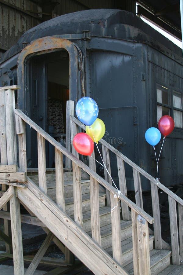 поезд партии стоковые фото