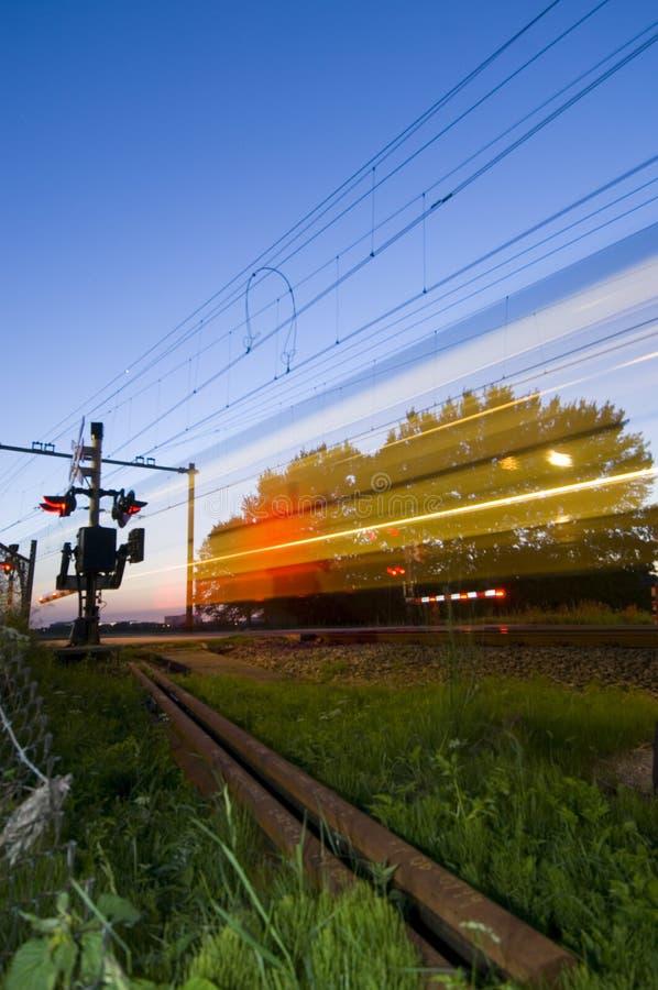 поезд привидения стоковое изображение