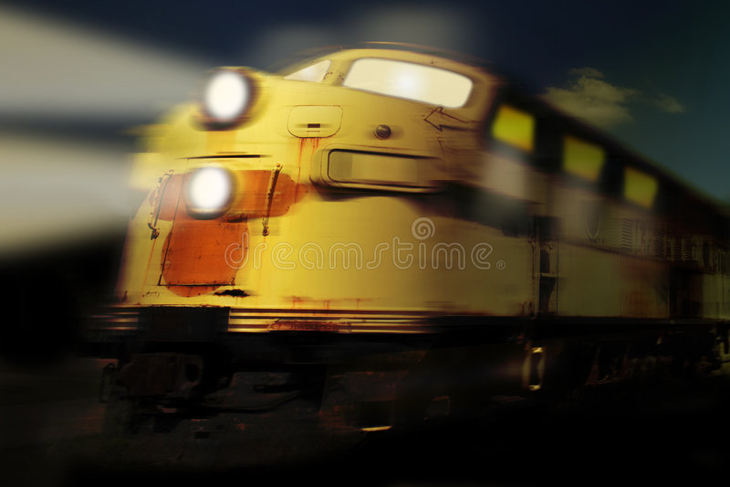 поезд привидения стоковые изображения rf