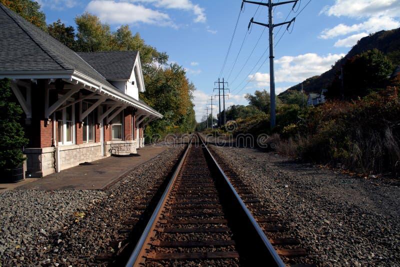 поезд станции стоковое фото rf