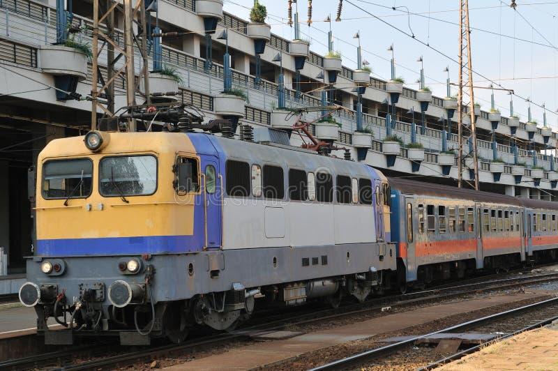 поезд станции budapest стоковое фото