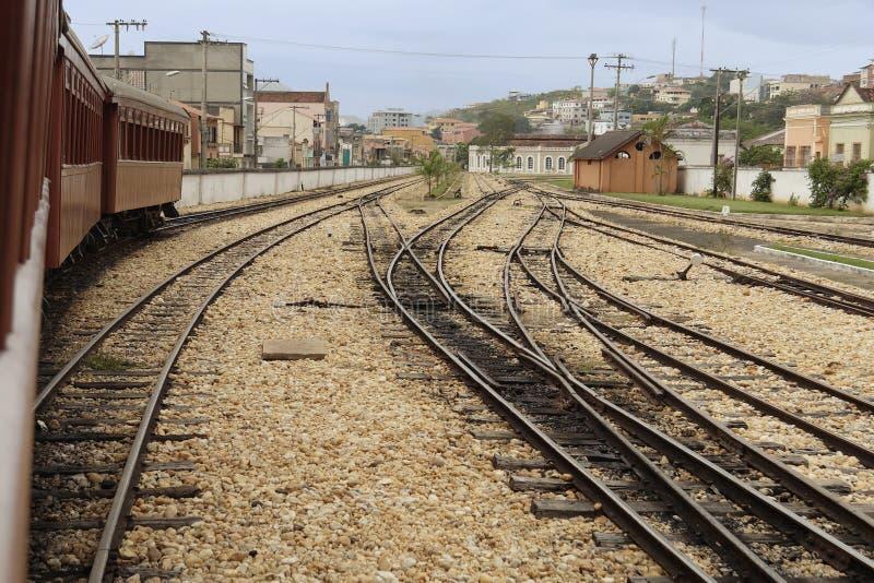 поезд станции sao rey del joao стоковое фото rf