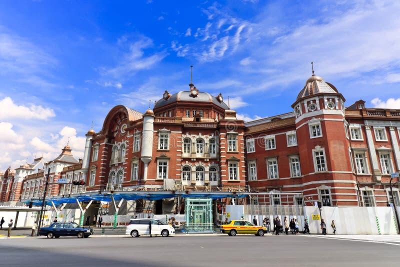 поезд токио станции стоковое изображение