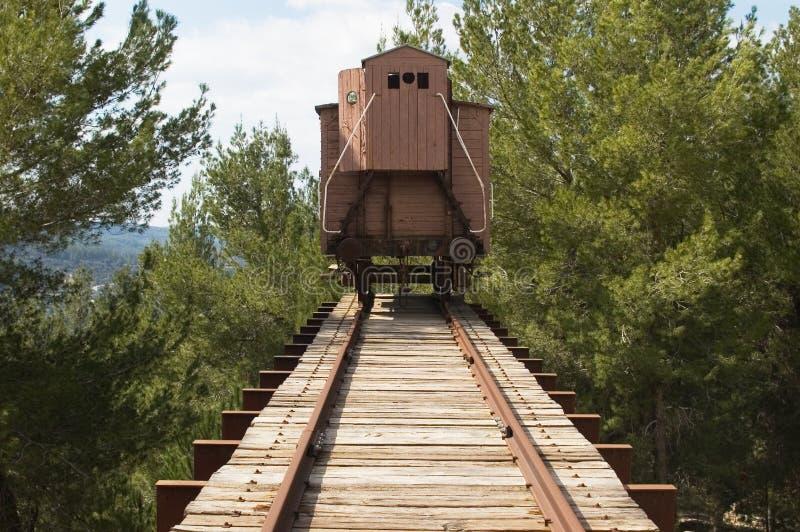 поезд холокоста стоковая фотография rf