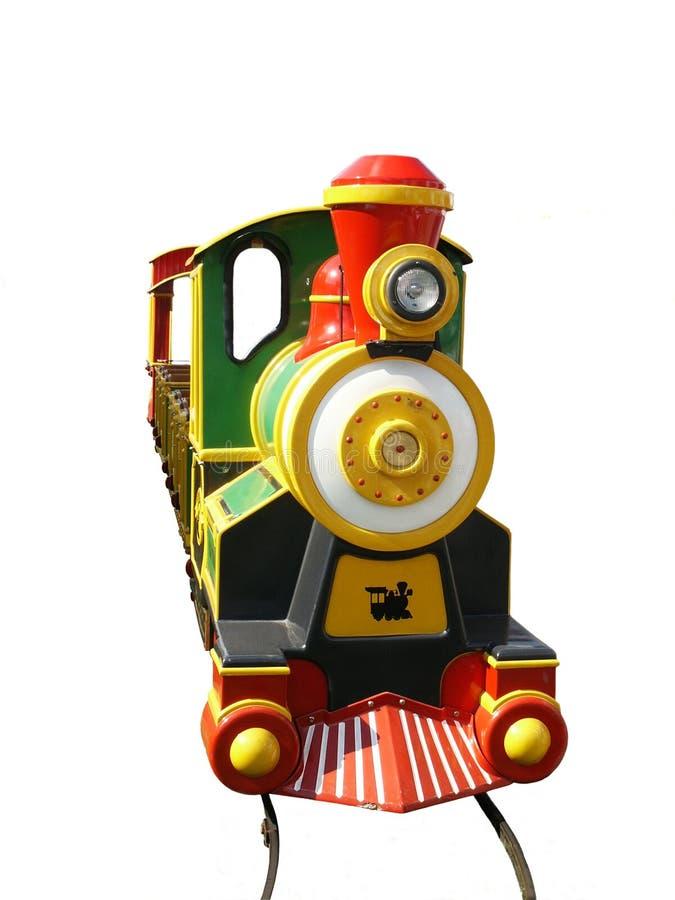 поезд kiddie стоковое изображение rf