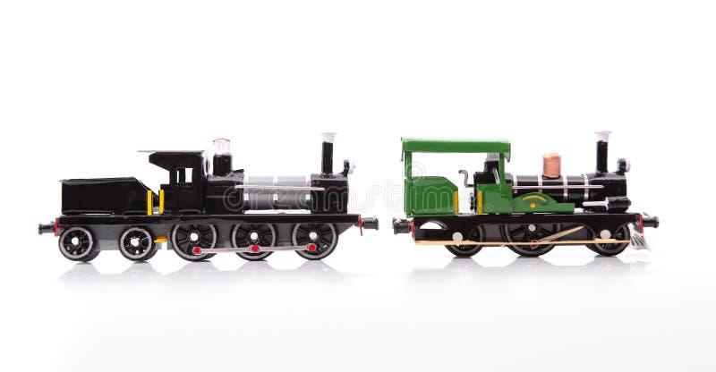 Поезда реплики стоковые изображения rf