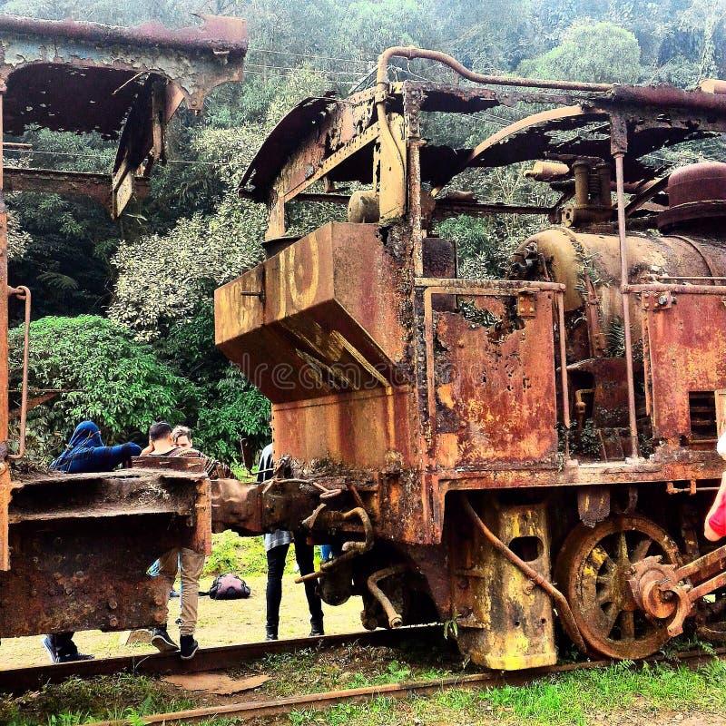 поезда стоковая фотография