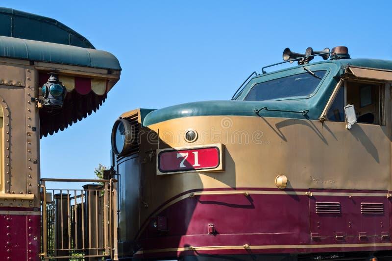 Поезд вина Napa стоковое изображение