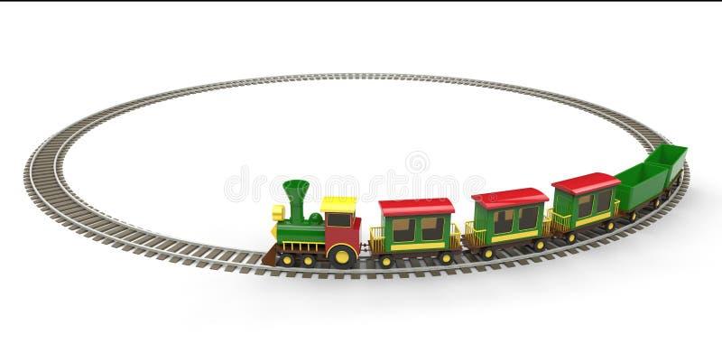 Поезд игрушки бесплатная иллюстрация