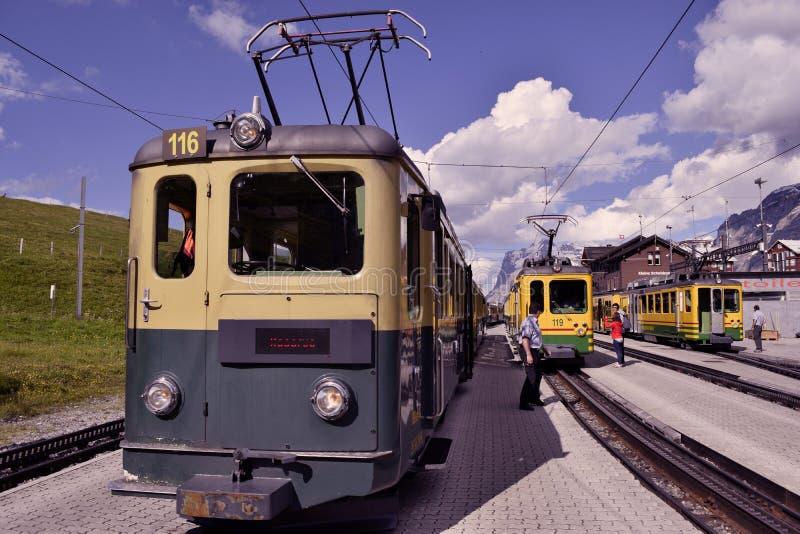 Поезд колеса Cog стоковые изображения rf
