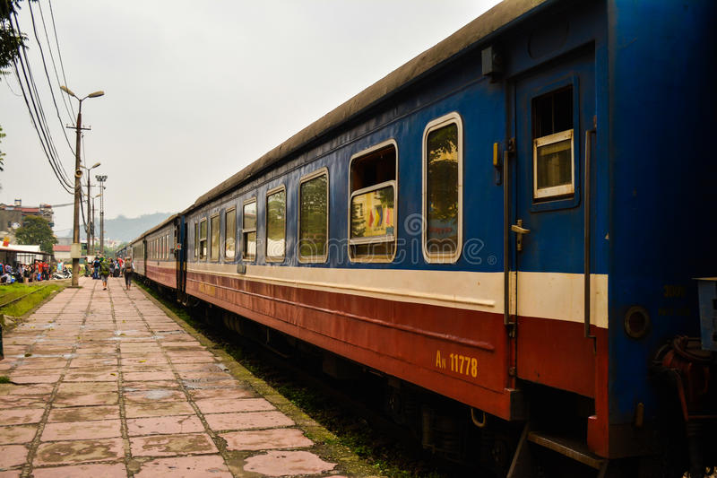 Поезд к Sapa стоковые фото