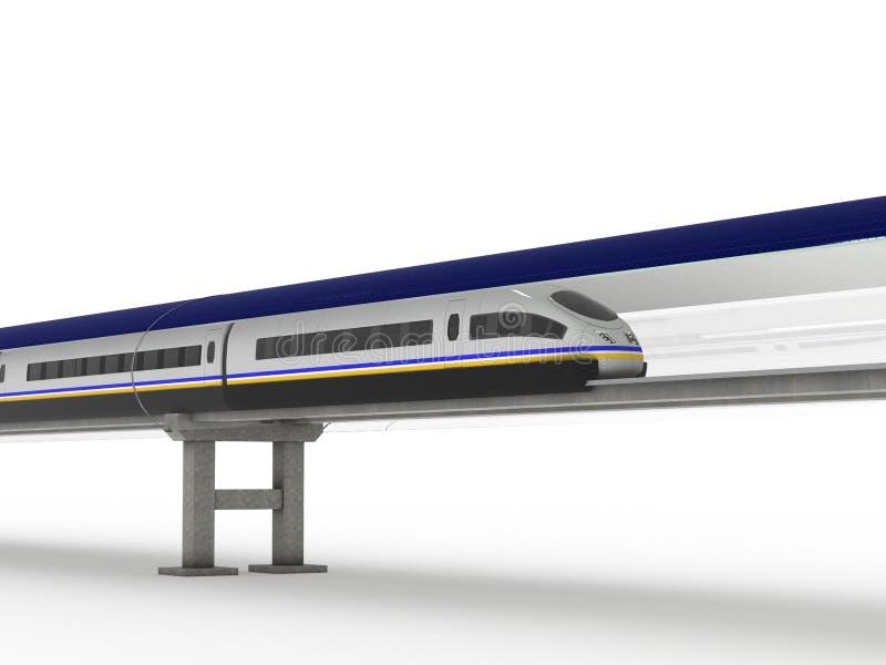 Поезд #2 магнитной левитации стоковая фотография