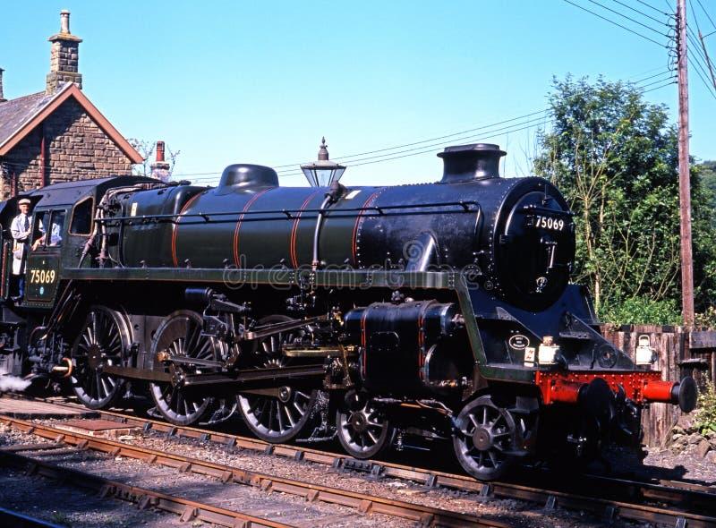 Поезд пара, Highley стоковое изображение rf