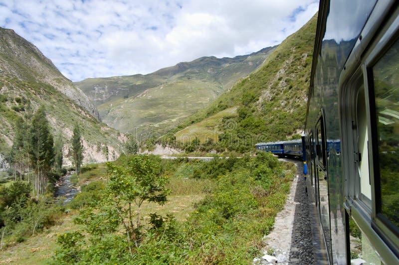 Поезд - Перу стоковое фото rf