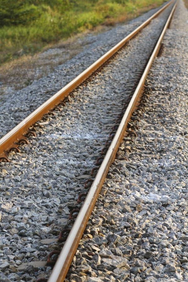 Поезд реального пути стоковая фотография