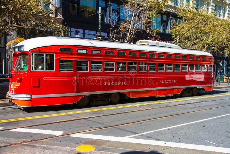 Поезд Сан-Франциско стоковая фотография
