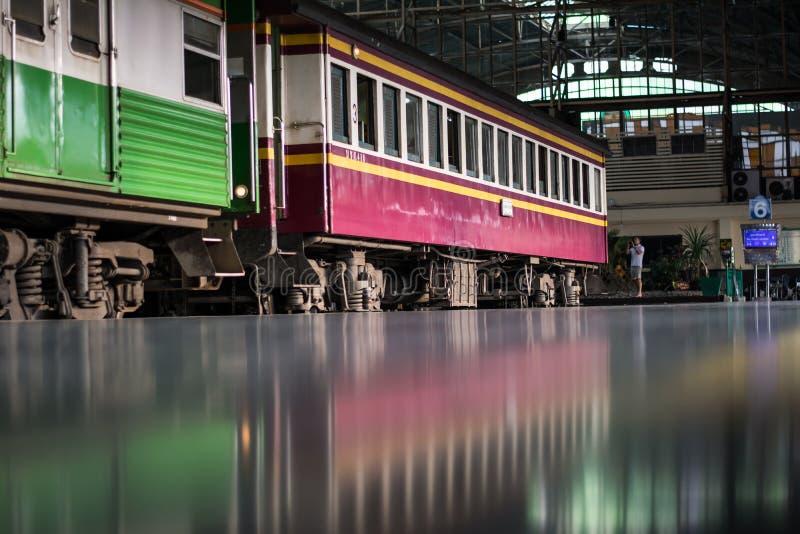 поезд Таиланда стоковое фото rf