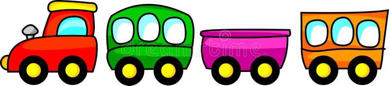 Поезд иллюстрация штока